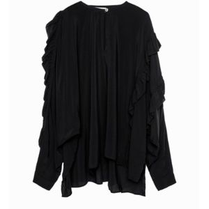 Zadig & Voltaire | Terra Oversized Blouse Size M
